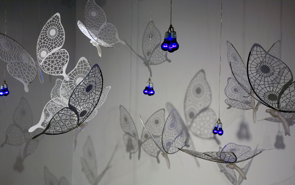 Hanging Butterflies